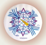 Suldiaa Venus Mandalas - Schamane  Ø 9 cm