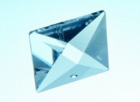 Regenbogen Kristalle - Pyramide 22 mm, bleifrei