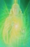Gebetskärtchen Leiendecker - Der Engel der Heilung