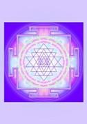 Schwingungsbild - Shri Yantra