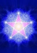 Schwingungsbild - Pentagramm