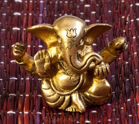 Ganesha sitzend, ca. 5 cm
