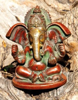 Ganesha sitzend, 10 cm