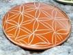 Blume des Lebens - Handschmeichler, orange